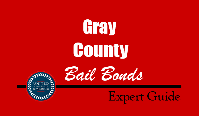 Gray County, Texas Bail Bonds – Find Bondsman in Gray County, TX– How Bail Works, Bail Costs