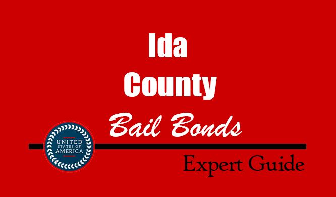 Ida County, Iowa Bail Bonds – Find Bondsman in Ida County, IA– How Bail Works, Bail Costs