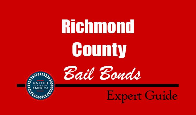 Richmond County, North Carolina Bail Bonds – Find Bondsman in Richmond County, NC– How Bail Works, Bail Costs
